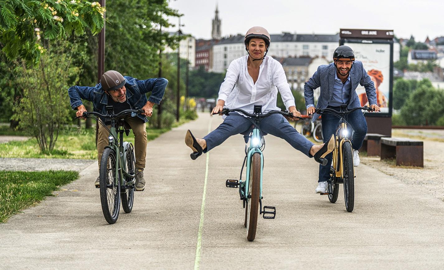 Essai du Reine Bike | Le vélo électrique connecté Nantais
