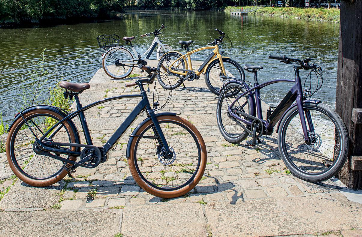 gamme urbaine vélo à assistance électrique Reine Bike