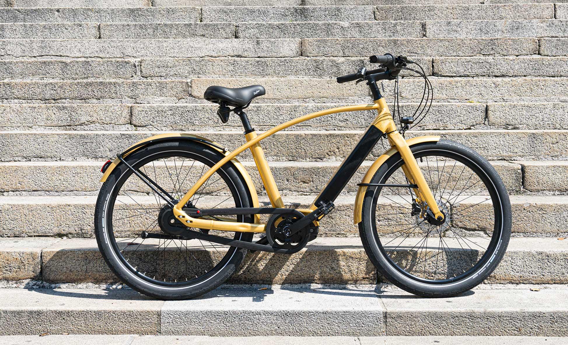 Cela ressemble à quoi un vélo électrique Reine Bike ?
