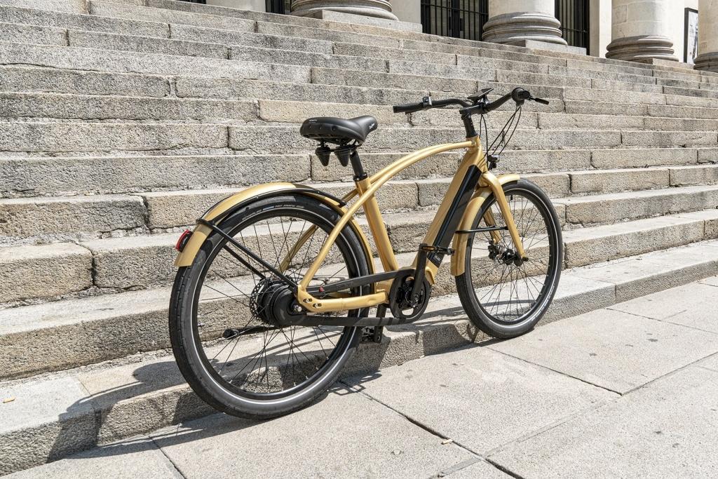 style et design pour ce bike électrique de marque française premium Reinebike