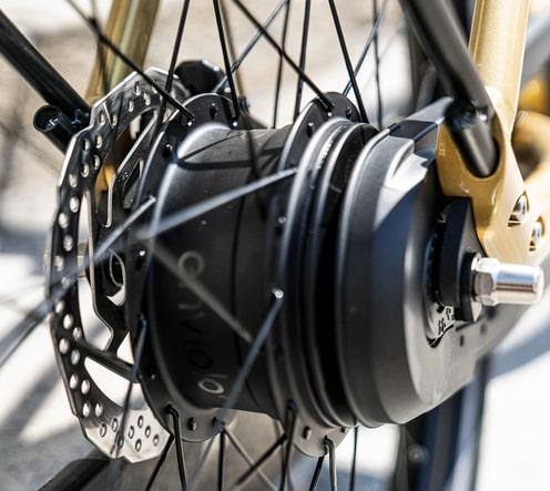 Moyeu à variateur continu Enviolo vélo électrique connecté