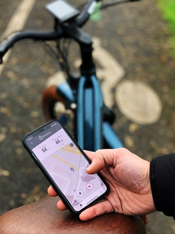 Le vélo électrique connecté au service de la sécurité