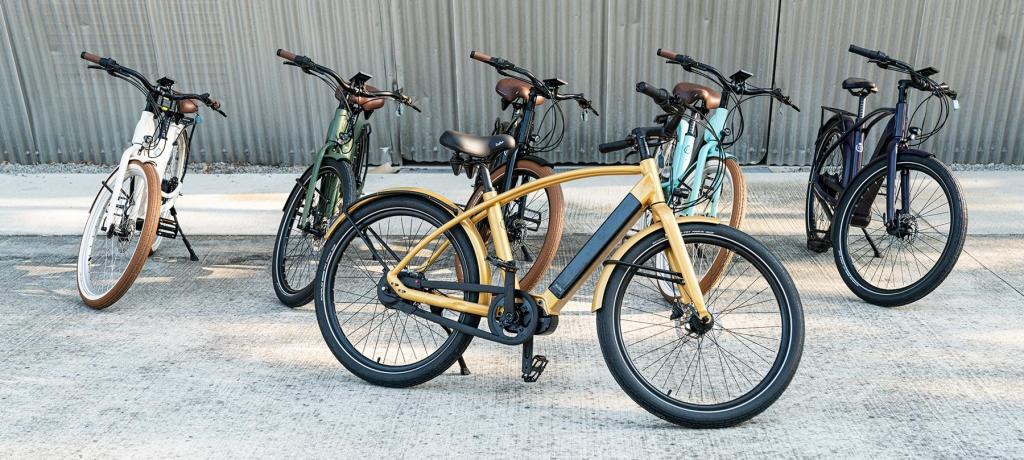 gamme de vélo électrique connecté de marque française haut de gamme Reinebike