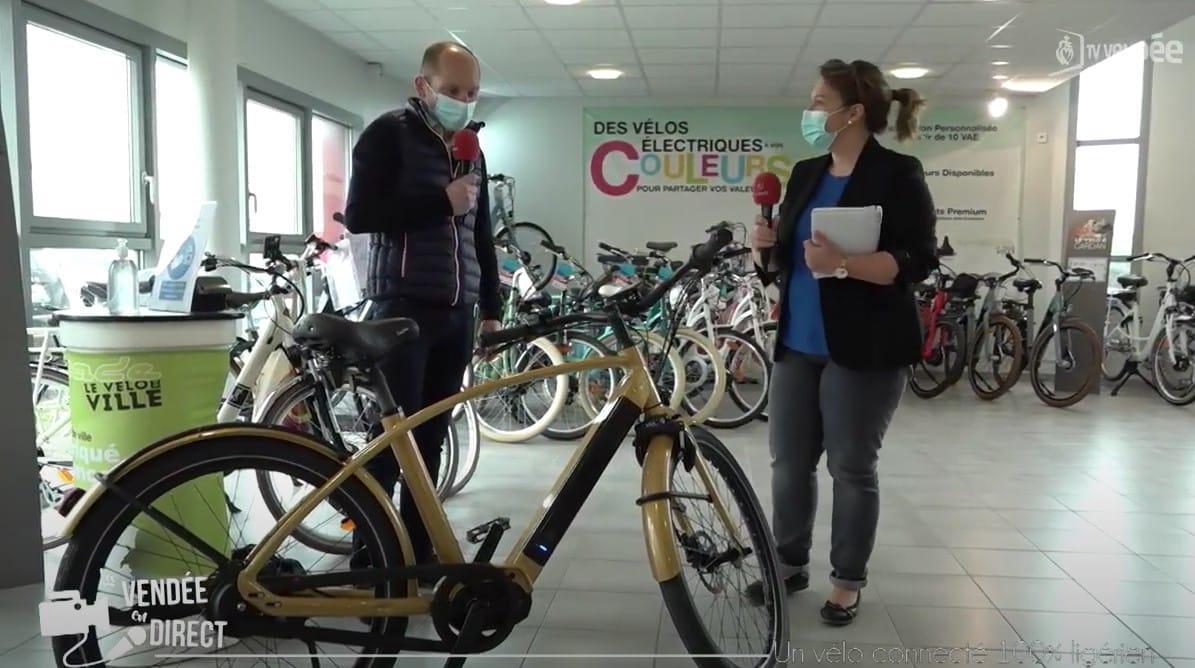VIDÉO | Le vélo électrique Reinebike à l'honneur sur TV Vendée
