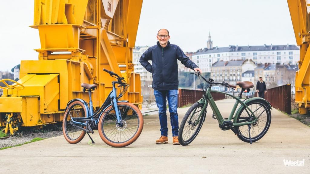 Stéphane Grégoire concepteur du vélo électrique connecté français haut de gamme Reinebike