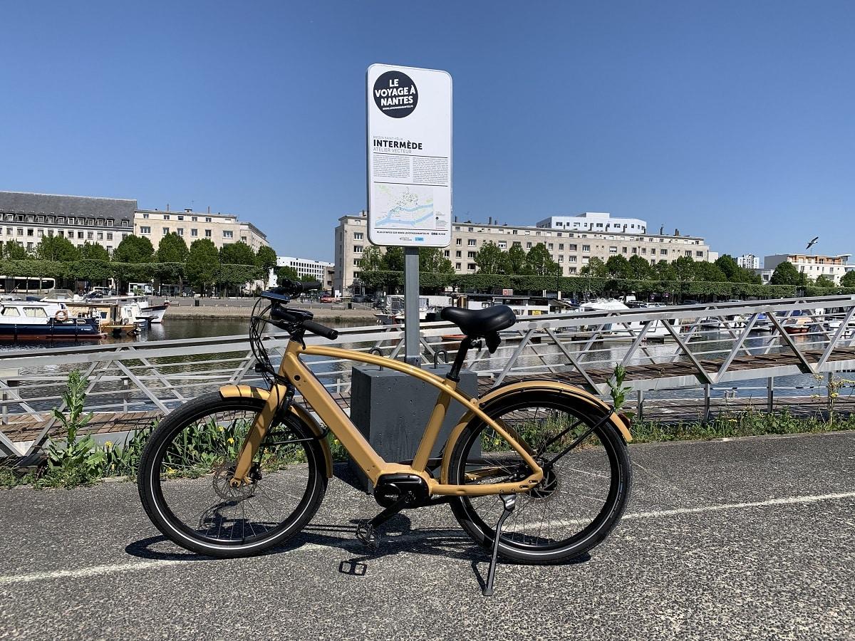 Roulez à nantes en vélo électrique reinebike