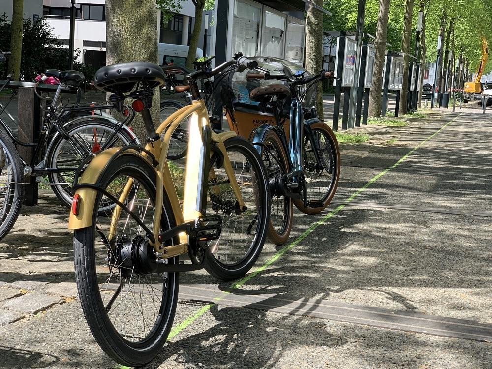 vélos électrique Reinebike pour se balader au coeur de la ville de nantes