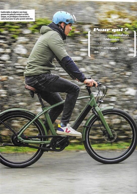 page 2 de l'essai du vélo électrique çoncu à nantes Reinebike par le magazine Ebike