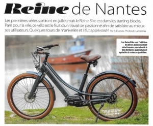 essai du vélo électrique Reinebike par le magazine e-bike