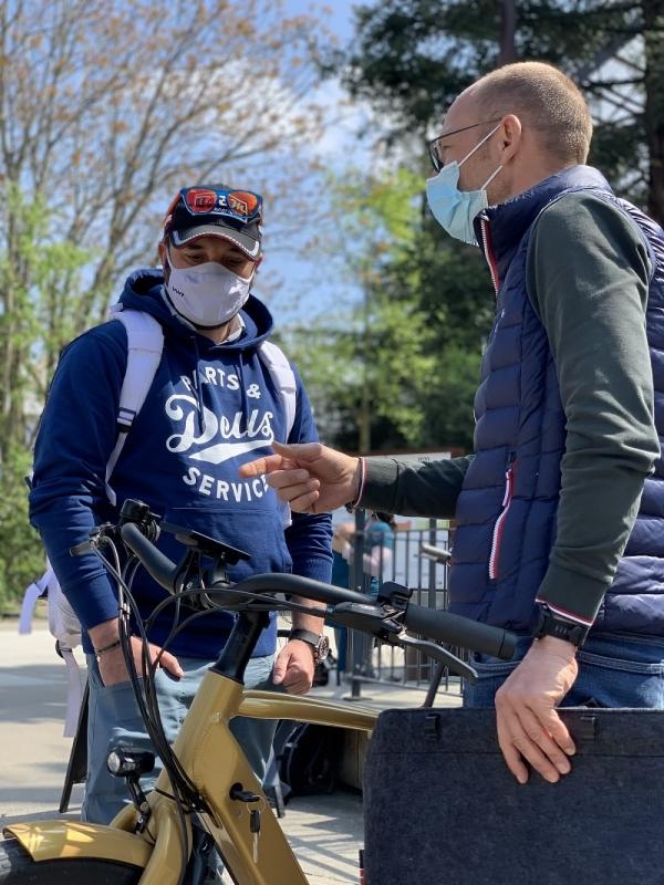 Découverte du vélo électrique nantais Reinebike lors d'un test à Nantes